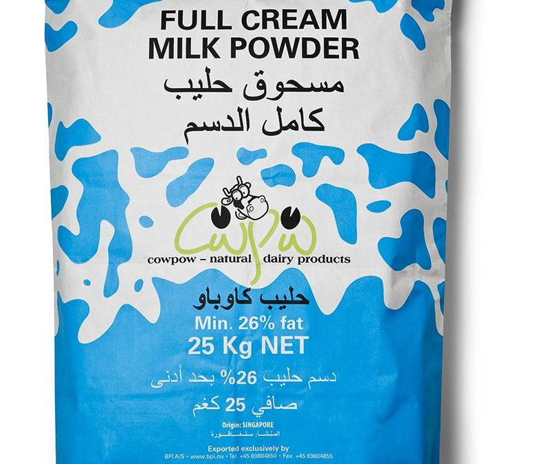 Regular Full Cream Milk Powder min 26% milkfat