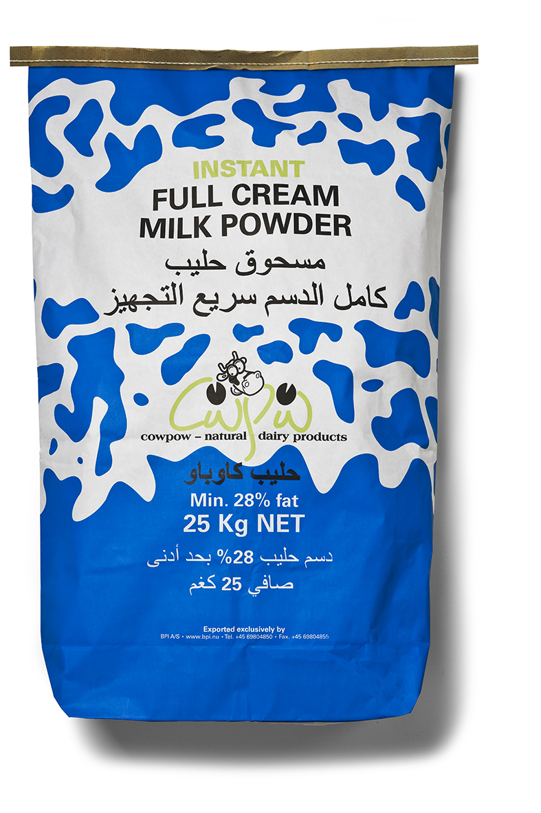INSTANT Full Cream Milk Powder 28 pct 25 kg